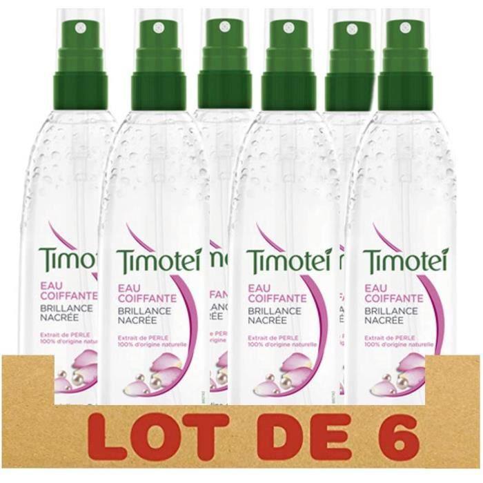 Produits coiffants Timotei Eau Coiffante Brillance Nacrée, Extrait de Perle 100% d'Origine Naturelle, Formule Enrichie à 717932