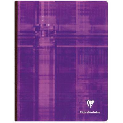 Cahier brochures petit carreaux 17x22 192p 90g