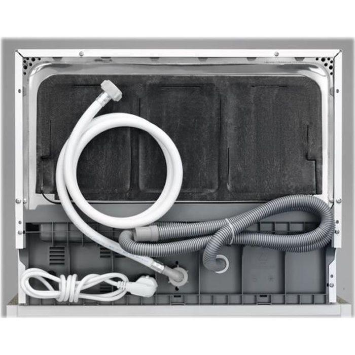 Electrolux ESF2400OS Lave-vaisselle pose libre largeur : 55 cm profondeur : 50 cm hauteur : 43.8 cm argenté(e)