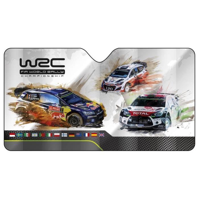 WRC Pare-soleil avant alu taille M Gris