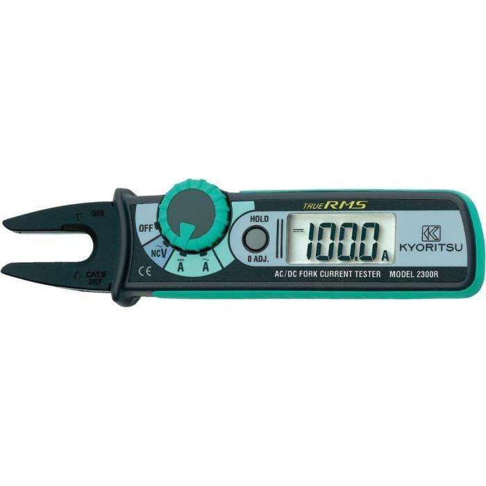 Multimètre , Pince ampèremétrique numérique Kyoritsu KEW 2300R CAT III 300 V Affichage (nombre de points):1049