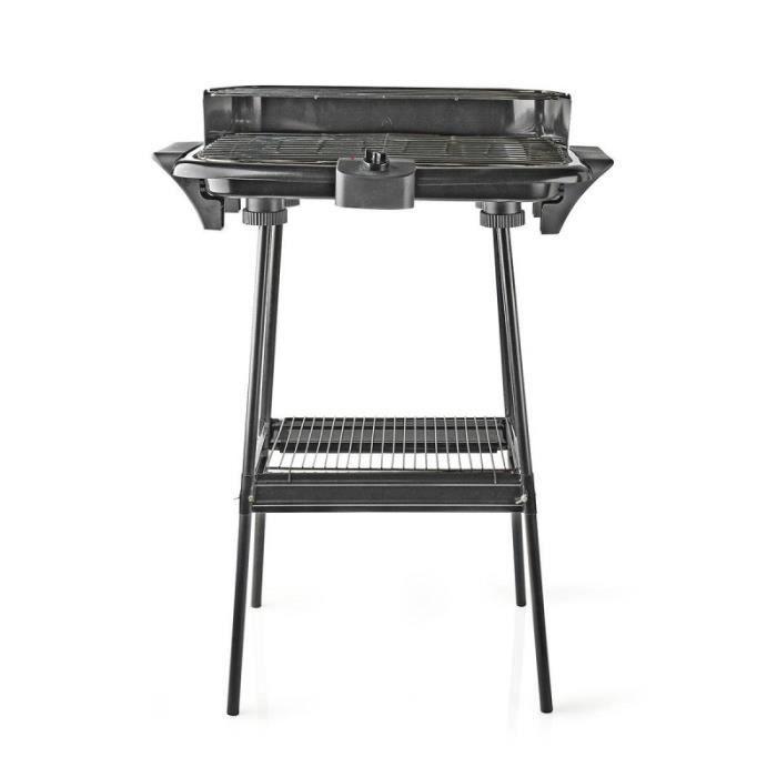 NEDIS Barbecue Électrique Rectangulaire 46 x 28 cm 2000W