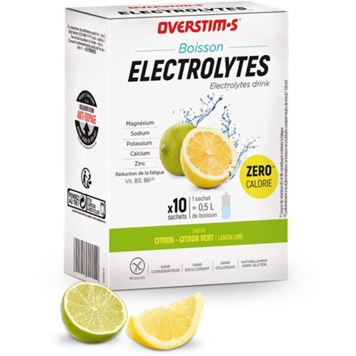 OVERSTIMS – Boisson Electrolytes (10 sachets)