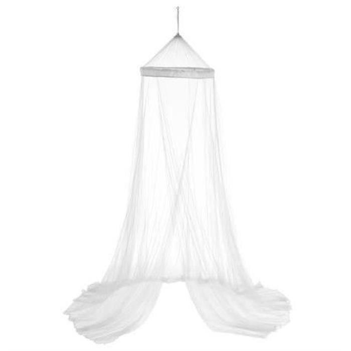 Ciel de lit et moustiquaire coloris blanc - Dim : 60 X 250 cm