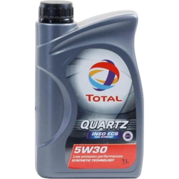 Huile moteur Total QUARTZ INEO ECS 5W-30 1 Litres Boîte