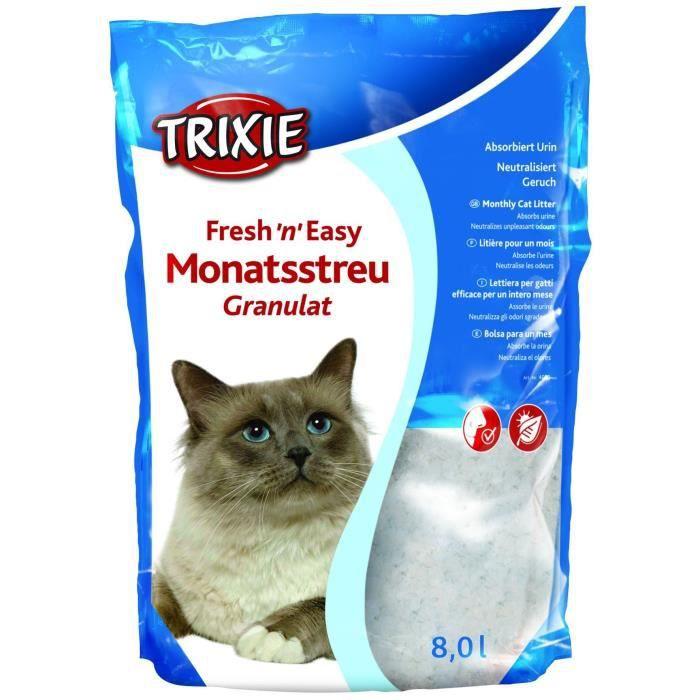TRIXIE Fresh'n'Easy Granules, 8 l pour chat