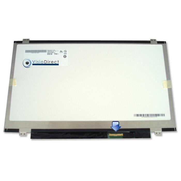 Dalle Ecran 14- LED pour SONY Vaio PCG-61211M ordinateur portable