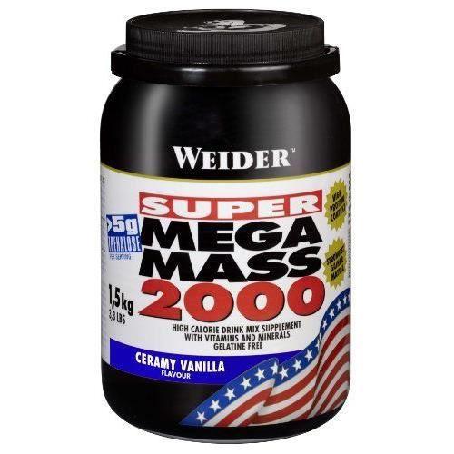 Weider Weight Gainer Mega Mass 2000 Complément …