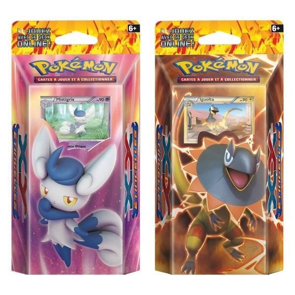 Pokemon x y starter 60 cartes xy 02 achat vente carte a collectionner cdiscount - Cart pokemon xy ...