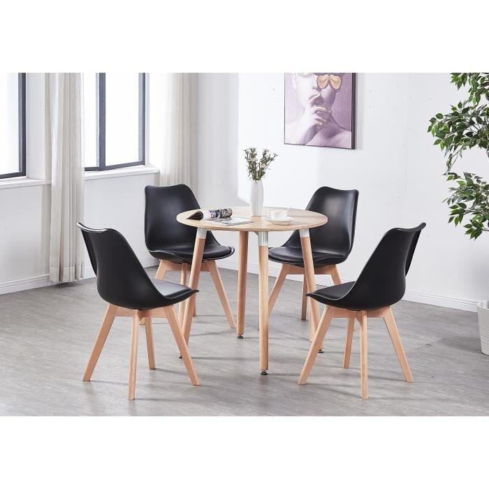 Table Ronde De Cuisine Avec Chaise