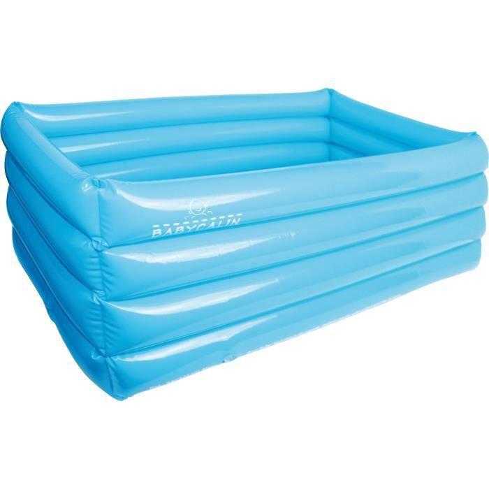 baril de bain bain gonflable Baignoire gonfl/ée Isolation plus /épais Piscine pour b/éb/és Baignoires de bain Bassin de bain Baignoire pliante en plastique Baignoire gonflable Couleur : A , taille : 125*88*55CM