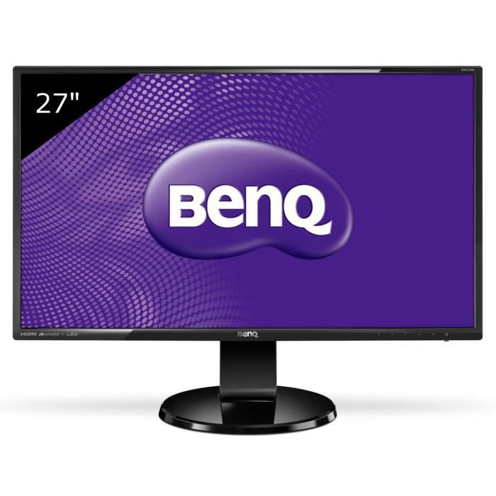 Benq gw2760hs cran led 27 1920 x 1080 ful achat for Ecran pc brillant