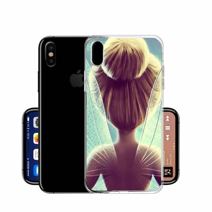 coque iphone x fée