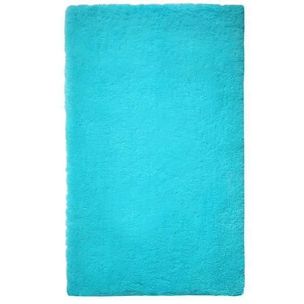 tapis de salle de bain bleu turquoise event esp achat vente tapis de bain cdiscount. Black Bedroom Furniture Sets. Home Design Ideas