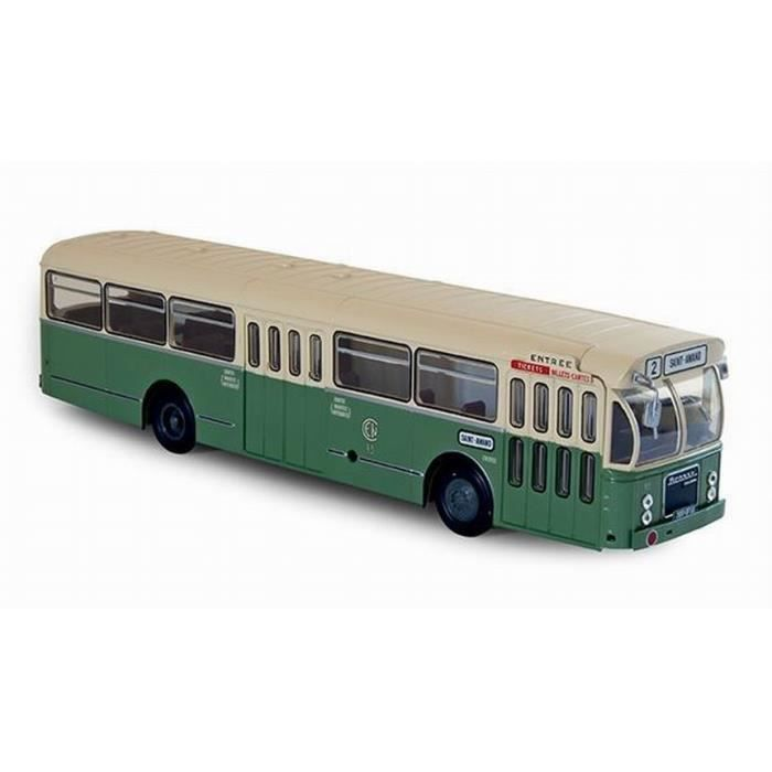 Autobus SAVIEM SC10U de 1965 Ligne RATP 72 au 1//43 Résine et Métal