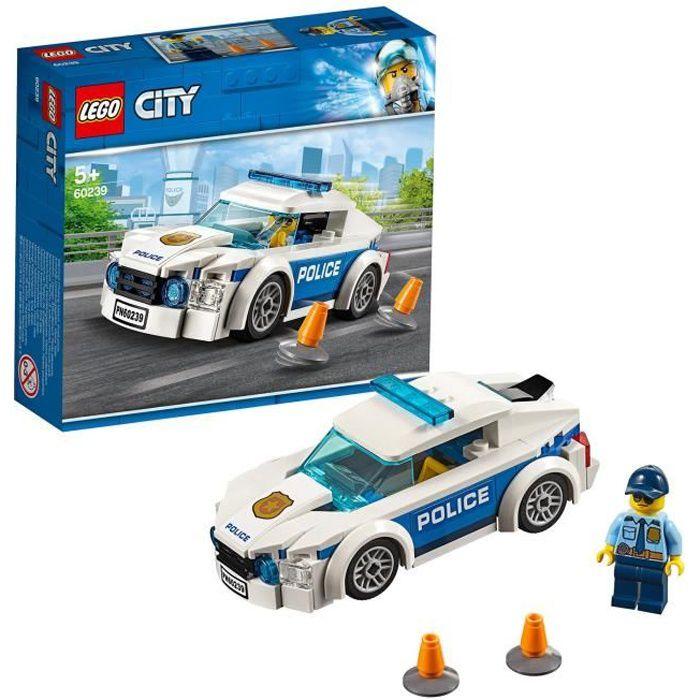 Photo de lego-city-60239-la-voiture-de-patrouille-de-la-police-jeu-de-construction