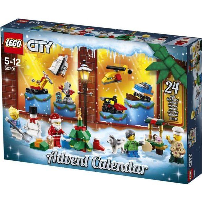 Lego Friends Calendrier De L Avent.Lego City 60201 Le Calendrier De L Avent O City