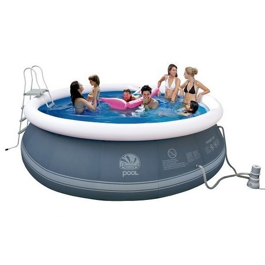 Piscine autoportante ronde prompt set 450 x 122 cm achat for Piscine autoportante