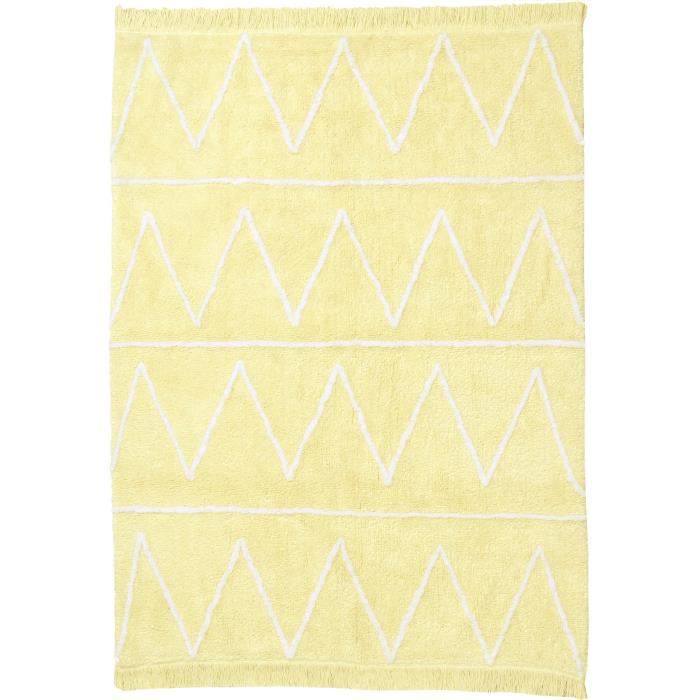 lorena canals tapis enfants hippy jaune 120x160 cm achat vente tapis cdiscount. Black Bedroom Furniture Sets. Home Design Ideas