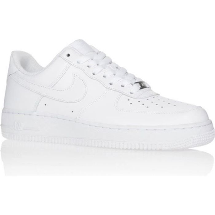 Baskets Air Force 1 Low 315122-111 blanc pour Homm