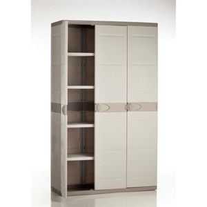 armoire garage achat vente armoire garage pas cher cdiscount. Black Bedroom Furniture Sets. Home Design Ideas