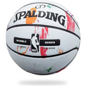 BALLON DE BASKET-BALL SPALDING Ballon de basket-ball NBA Marble Mc Outdo
