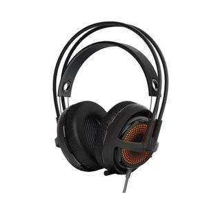 CASQUE  - MICROPHONE STEELSERIES Casque Gaming Siberia 350 Noir - Micro
