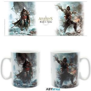 BOL - MUG - MAZAGRAN ABYSTYLE Mug Assassin'S Creed 4: Capitaine Pirate