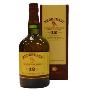 VIN ROUGE Redbreast | 12 ans d'âge - Single Pot Still