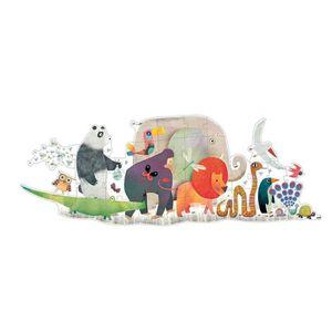 PUZZLE Djeco - Puzzle Géant 36 Pièces Parade Des Animaux