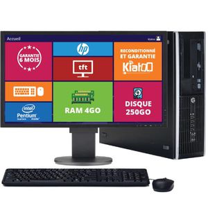 UNITÉ CENTRALE  ordinateur de bureau HP elite 8200 pentium intel d