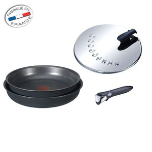 BATTERIE DE CUISINE  TEFAL INGENIO Set 4 pièces MAGIC induction
