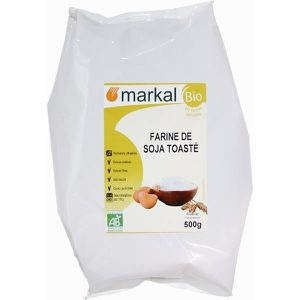 FARINE - FÉCULE MARKAL - FARINE DE SOJA TOASTEE 500G