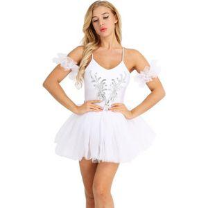TUTU - JUSTAUCORPS Justaucorps Danse Femme Tutu Robe Ballet Classique
