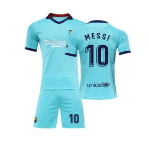 ROBE Barca Lionel Messi NO.10 Jersey Maillot et Shorts