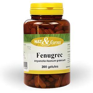 DIGESTION - TRANSIT  FENUGREC 200 gélules - Nat et Form - Atlantic N…