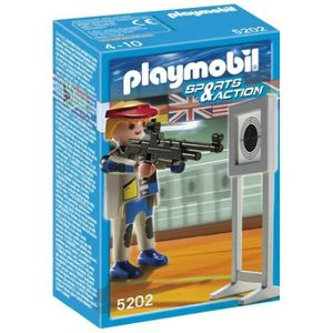 UNIVERS MINIATURE Playmobil Tireur A La Carabine