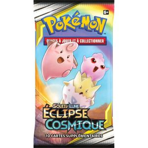 CARTE A COLLECTIONNER POKEMON Soleil et Lune 12 - Booster Eclipse cosmiq