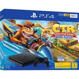 CONSOLE PS4 Sony Console de jeu PlayStation 4 Slim 500GB + Cra
