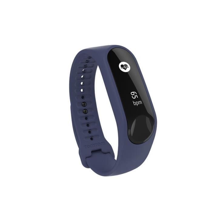 TOMTOM Bracelet d'Activité Touch Cardio - Bracelet Fin Violet - Indigo