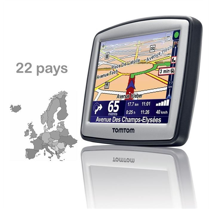 tomtom one europe v4 22 pays achat vente gps auto tomtom one europe v4 22 pays cdiscount. Black Bedroom Furniture Sets. Home Design Ideas