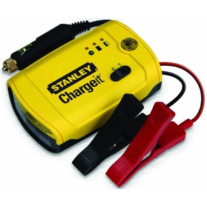 STANLEY Chargeur de batterie BC202 et Maintien de charge électronique 2A