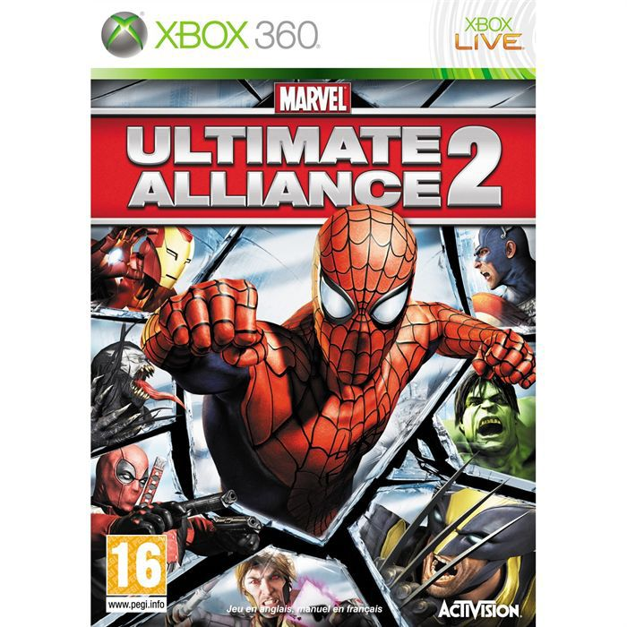 JEUX XBOX 360 MARVEL ULTIMATE ALLIANCE 2 / JEU CONSOLE XBOX360