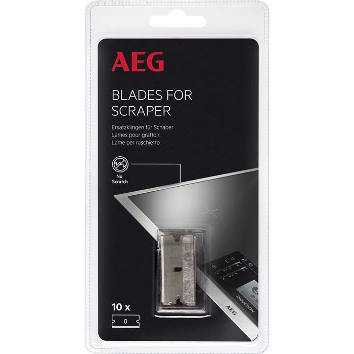AEG A6IMB102, Racleur à lame pour plaque de cuisson, Universel, Acier inoxydable, Céramique, Induction, 25 mm, 13 mm