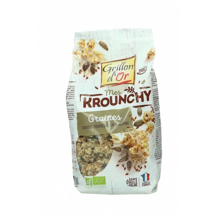 Grillon d'or - Krounchy graines 500gr
