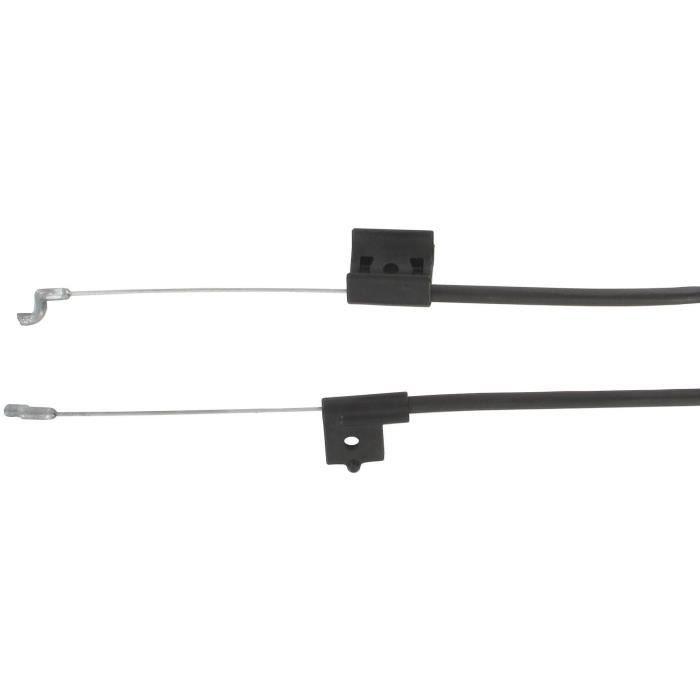 Câble MURRAY 43361 moteurs TECUMSEH TVS90 - montage côté gauche