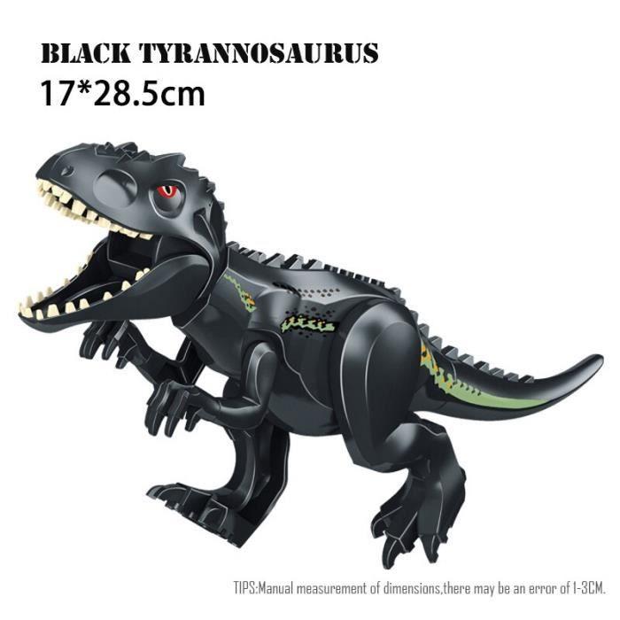 Figurines de dinosaures Jurassic World 2, jouets à assembler, modèles dinosaure T Rex Indominus i-rex, cadeau pour [CCE53CD]