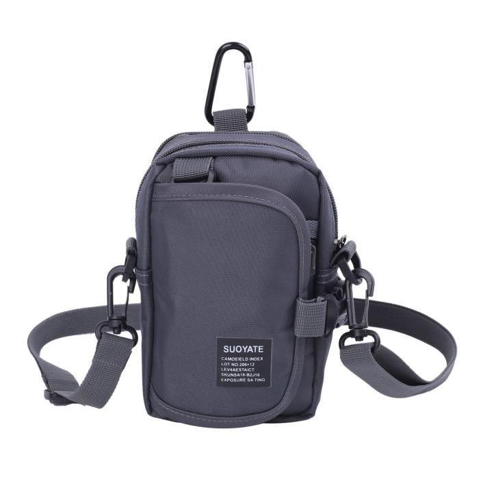 Sacoche tactique pour hommes, étui pour téléphone portable, pochette à rabat extérieur, sac à la taille, EDC, LA56436429