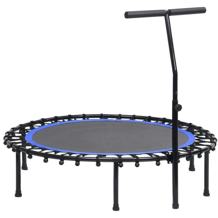 Trampoline de Fitness Pliable Trampoline de Gym gymnastique haute performance- avec poignée 122 cm elegant♕5493