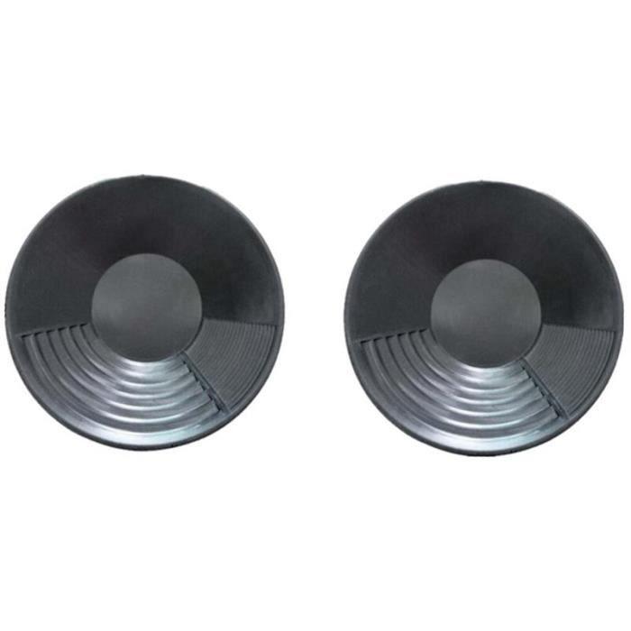 2 pièces de bassin de poêle en plastique or pépite minage dragage prospection pour extraction de s objet decoratif ZSPA1234